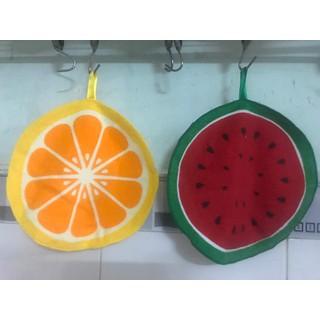 Khăn lau tay nhà bếp hình trái cây xinh xắn - Khăn lau tay hình trái cây thumbnail