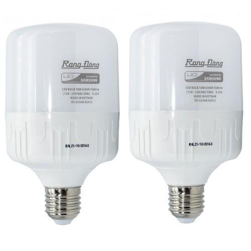 Bộ 2 bóng đèn 50W Rạng Đông LED Bulb trụ E27 - 7044870 , 13790058 , 15_13790058 , 367000 , Bo-2-bong-den-50W-Rang-Dong-LED-Bulb-tru-E27-15_13790058 , sendo.vn , Bộ 2 bóng đèn 50W Rạng Đông LED Bulb trụ E27