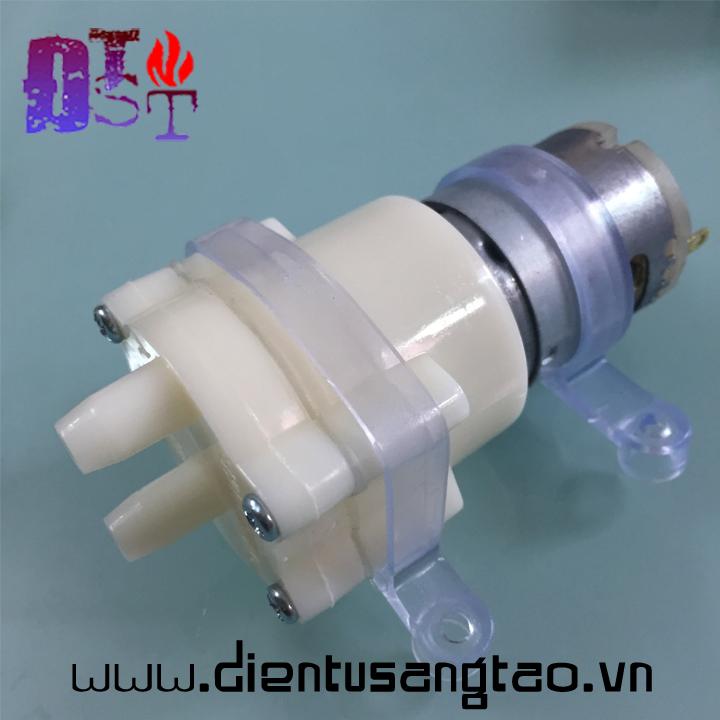 Máy Bơm Nước Mini RS365 6-12V DC 1.5-2L Min
