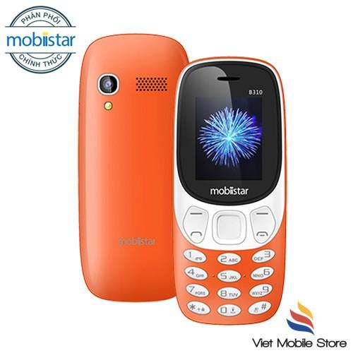 Điện thoại Mobiistar B310 - Thiết kế hiện đại, độc đáo - Hàng chính hãng