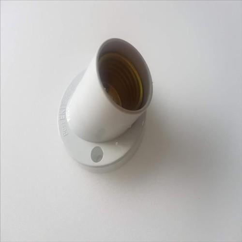Bộ 10 cái đui đèn vát xoáy E 27 màu trắng,, vnled.vn, vietnamled.vn, đt 0936395395