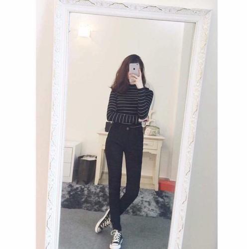Quần kaki thun nữ, quần kaki nữ Q047
