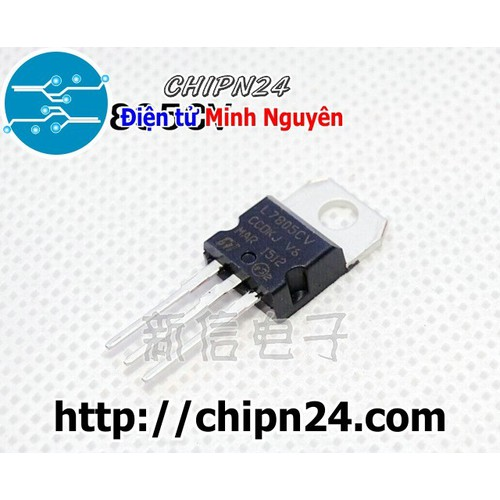 [3 con] ic nguồn 7805 l7805cv 5v 1.5a to-220