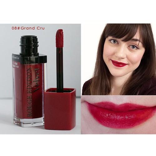 Son Rouge Edition  Pháp màu 08 - Màu đỏ cherry