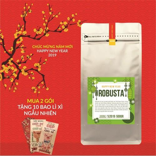 Cà phê Tết - Cà phê Robusta Lâm Hà 500g - The Kaffeine