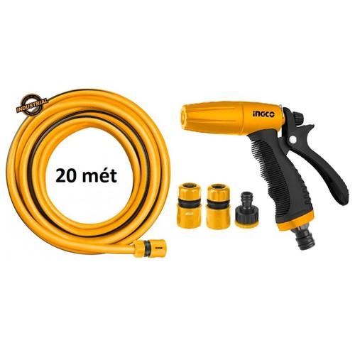 Bộ 20 mét ống nhựa PVC Fi21 khớp nối ống vòi xịt rữa tưới cây chỉnh tia INGCO HWSG032 HHCS03122 HPH2001 - 7042062 , 13787538 , 15_13787538 , 377000 , Bo-20-met-ong-nhua-PVC-Fi21-khop-noi-ong-voi-xit-rua-tuoi-cay-chinh-tia-INGCO-HWSG032-HHCS03122-HPH2001-15_13787538 , sendo.vn , Bộ 20 mét ống nhựa PVC Fi21 khớp nối ống vòi xịt rữa tưới cây chỉnh tia INGCO