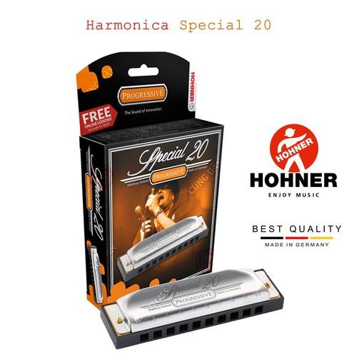 Kèn harmonica HOHNER Special 20 Tông Đô trưởng - có hộp đi kèm