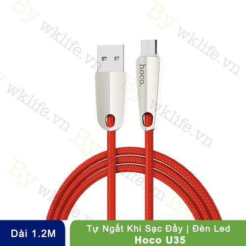 Cáp Micro USB Hoco U35 Tự Ngắt 1.2 Mét - 7036538 , 13782675 , 15_13782675 , 140000 , Cap-Micro-USB-Hoco-U35-Tu-Ngat-1.2-Met-15_13782675 , sendo.vn , Cáp Micro USB Hoco U35 Tự Ngắt 1.2 Mét