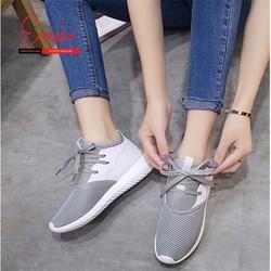 Giày Sneaker Thời Trang Nữ Erosska GN037 - Xám -...