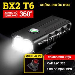 Đèn pin xe đạp siêu sáng BX2