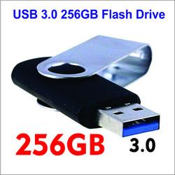 USB3.0 Flash Drive 256G Large Capacity USB Stick High Speed USB Pen Drive Blue