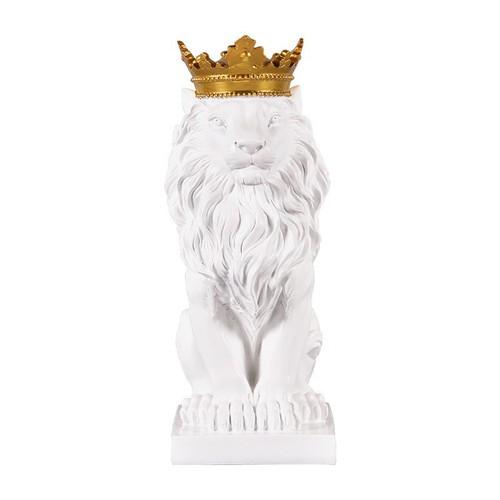 Tượng vua sư tử trắng