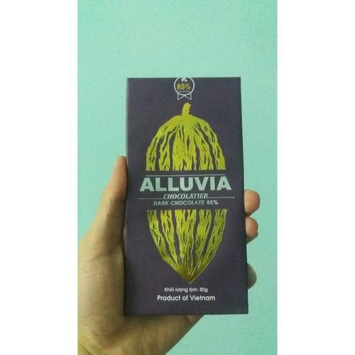 socola đen nguyên chất  alluvia 85 cacao 80g - 7061019 , 13802836 , 15_13802836 , 100000 , socola-den-nguyen-chat-alluvia-85-cacao-80g-15_13802836 , sendo.vn , socola đen nguyên chất  alluvia 85 cacao 80g