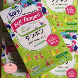 [Miễn phí vận chuyển 10k]Băng Vệ Sinh Diana Sofy Soft Tampon