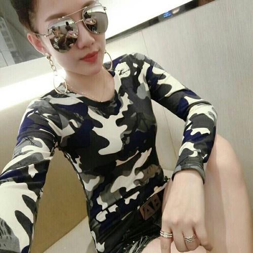 Áo kiểu nữ lính