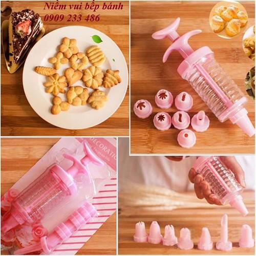 Bộ dụng cụ làm bánh, trang trí bánh kem
