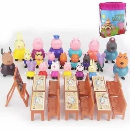 Bộ Đồ Chơi Lớp Học Heo Peppa Pig 21 Nhân Vật - 7052575 , 13796220 , 15_13796220 , 185000 , Bo-Do-Choi-Lop-Hoc-Heo-Peppa-Pig-21-Nhan-Vat-15_13796220 , sendo.vn , Bộ Đồ Chơi Lớp Học Heo Peppa Pig 21 Nhân Vật