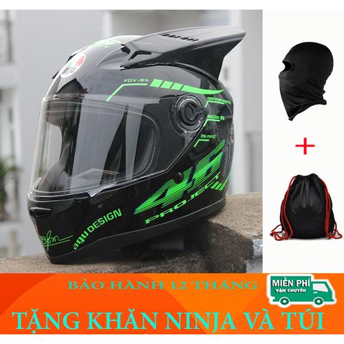Nón bảo hiểm AGU fullface tem XANH LÁ gắn sừng Tặng khăn ninja và túi đựng - 7049983 , 13793940 , 15_13793940 , 359000 , Non-bao-hiem-AGU-fullface-tem-XANH-LA-gan-sung-Tang-khan-ninja-va-tui-dung-15_13793940 , sendo.vn , Nón bảo hiểm AGU fullface tem XANH LÁ gắn sừng Tặng khăn ninja và túi đựng