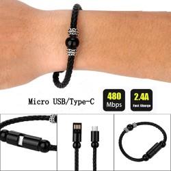 Dây Cáp Sạc USB Type C Mirco Thời Trang Đỉnh