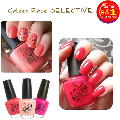 Sơn Móng Tay Golden Rose Selective- GIAO MÀU NGẪU NHIÊN