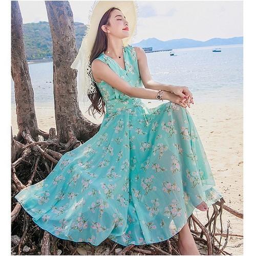Váy đầm maxi cổ V đi biển đẹp - 7047793 , 13792638 , 15_13792638 , 499000 , Vay-dam-maxi-co-V-di-bien-dep-15_13792638 , sendo.vn , Váy đầm maxi cổ V đi biển đẹp