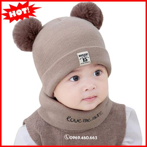 Mũ nón len trẻ em