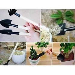 Bộ cuốc xẻng làm vườn trồng cây cảnh mini 3 món