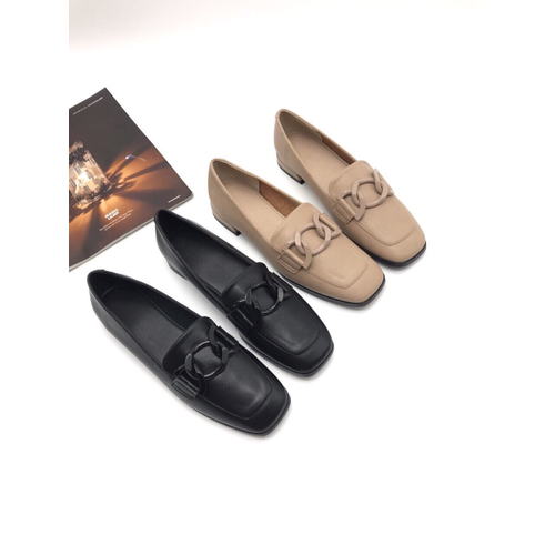 Giày bệt nữ mũi vuông -tu