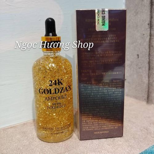 Serum dưỡng da vàng 24k Goldzan - Chính hãng - 7049268 , 13793421 , 15_13793421 , 163000 , Serum-duong-da-vang-24k-Goldzan-Chinh-hang-15_13793421 , sendo.vn , Serum dưỡng da vàng 24k Goldzan - Chính hãng