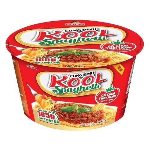Mì Khoai Tây Cung Đình Kool Sốt Spaghetti Vị Thịt Bò Bằm- 105g