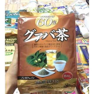 Trà Giảm Cân Tinh Chất Lá Ổi Orihiro Guava Tea 60 gói của Nhật - Trà Orihiro Guava Tea 60gói thumbnail