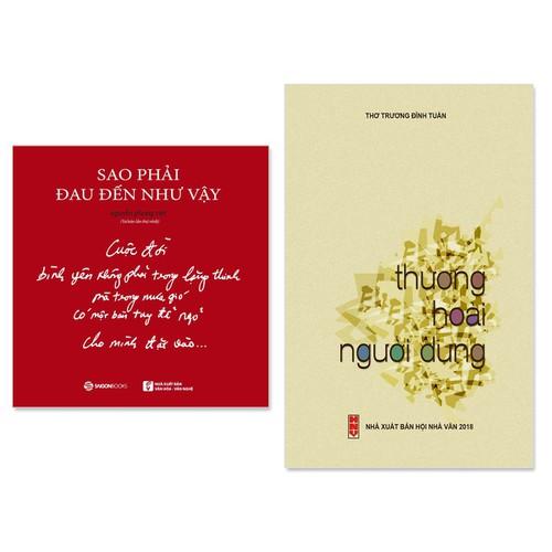 Combo 2  cuốn thơ hay: Thương Hoài Người Dưng, Sao Phải Đau Đến Như Vậy - 7057574 , 13800075 , 15_13800075 , 159000 , Combo-2-cuon-tho-hay-Thuong-Hoai-Nguoi-Dung-Sao-Phai-Dau-Den-Nhu-Vay-15_13800075 , sendo.vn , Combo 2  cuốn thơ hay: Thương Hoài Người Dưng, Sao Phải Đau Đến Như Vậy