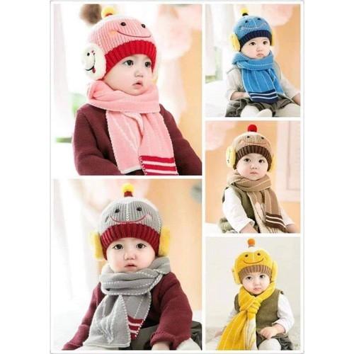 Mũ len kèm khăn siêu ấm cho bé - 4609083 , 13791476 , 15_13791476 , 85000 , Mu-len-kem-khan-sieu-am-cho-be-15_13791476 , sendo.vn , Mũ len kèm khăn siêu ấm cho bé