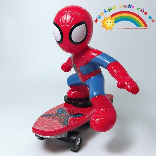 Đồ Chơi Spiderman trượt ván cứu thế giới [SHIP TOÀN QUỐC] - 4494363 , 13803789 , 15_13803789 , 180000 , Do-Choi-Spiderman-truot-van-cuu-the-gioi-SHIP-TOAN-QUOC-15_13803789 , sendo.vn , Đồ Chơi Spiderman trượt ván cứu thế giới [SHIP TOÀN QUỐC]