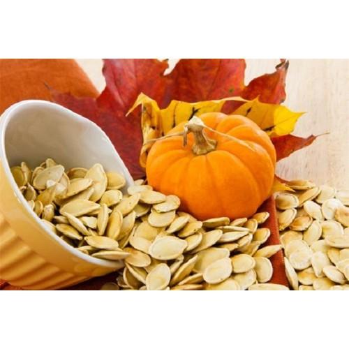 Hạt bí ngô sạch [không chất bảo quản] loại hạt lớn gói 500gr