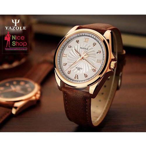 Đồng hồ nam công sở dạ quang Yazole - DHK053