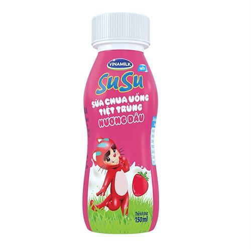 Thùng Sữa Chua Uống Susu Chai 150ml Mẫu mới - 10941075 , 13810856 , 15_13810856 , 155000 , Thung-Sua-Chua-Uong-Susu-Chai-150ml-Mau-moi-15_13810856 , sendo.vn , Thùng Sữa Chua Uống Susu Chai 150ml Mẫu mới