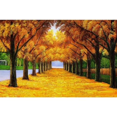 Tranh in VTC Vải canvas kim sa KT 150 x 100 cm