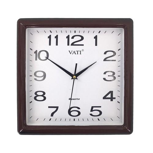 Vati---Đồng hồ treo tường hình vuông F71---Luôn chạy đúng giờ