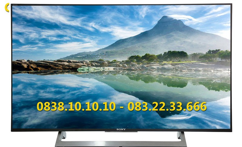 Android Tivi 4K HDR Sony 49 inch KD-49X8000E 1