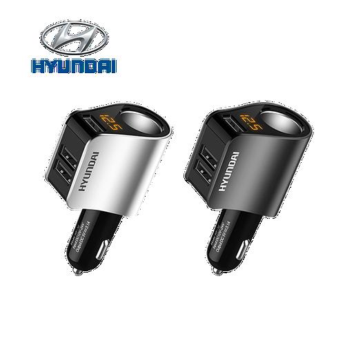 Tẩu sạc Hyundai HY-10 màu đen