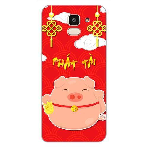 Ốp lưng điện thoại cho samsung galaxy j6 - Pig 2019