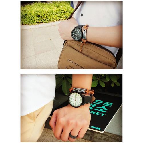 Đồng hồ sinh viên nam nữ Yazole đơn giản - DHK014