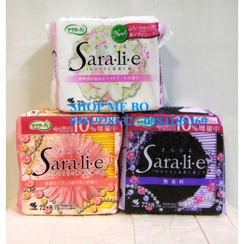 Băng vệ sinh hàng ngày Saralie gói 72 miếng