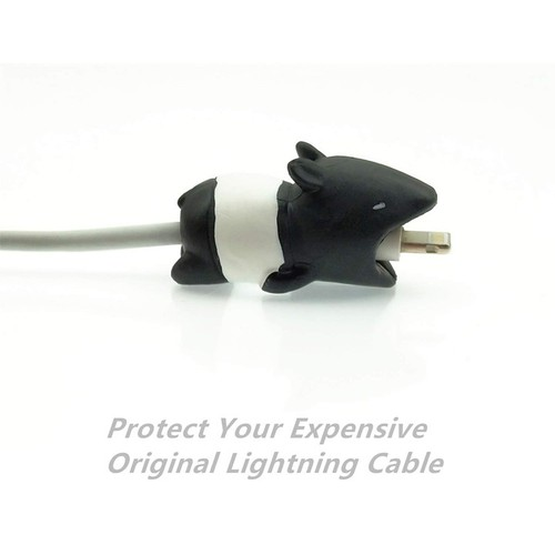 Nút Gắn Bảo Vệ Dây Cáp Sạc Iphone Cable Bite – Nút Gắn Bảo Vệ Dây Cáp Sạc Hình Động Vật Hoạt Hình Ngộ Nghĩnh Dễ Thương - Lợn Vòi