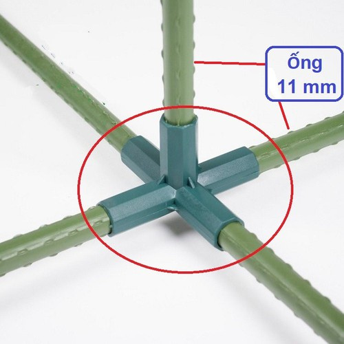 Khớp nối 5 chiều dùng nối ống thép bọc nhựa phi 11mm làm giàn leo. - 7075182 , 13812139 , 15_13812139 , 12000 , Khop-noi-5-chieu-dung-noi-ong-thep-boc-nhua-phi-11mm-lam-gian-leo.-15_13812139 , sendo.vn , Khớp nối 5 chiều dùng nối ống thép bọc nhựa phi 11mm làm giàn leo.
