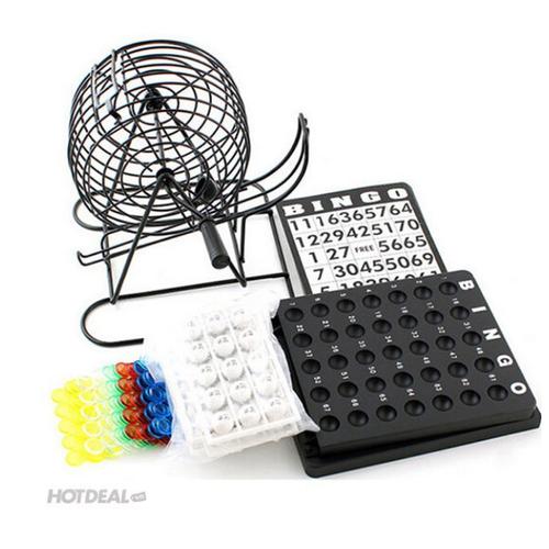 Bộ Lô Tô Bingo Lồng Sắt Dành Cho Dịp Tết