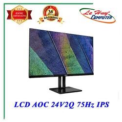 Màn hình máy tính AOC 24V2Q 24 inches IPS FHD 75Hz Hàng chính hãng - AOC 24V2Q