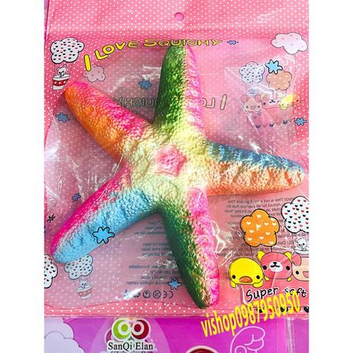 Squishy sao biển 5 cánh nhiều màu thaolinh950