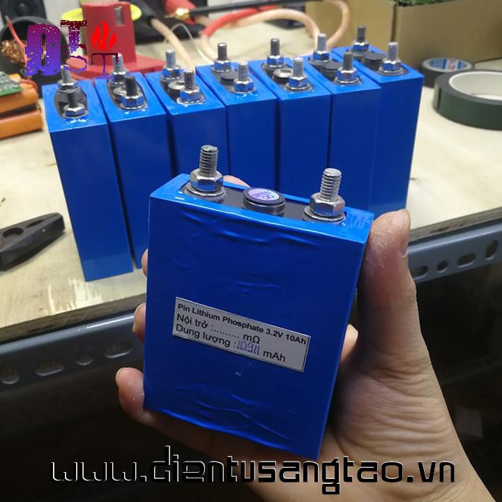 Pin lithium phosphate 3.2v 10Ah